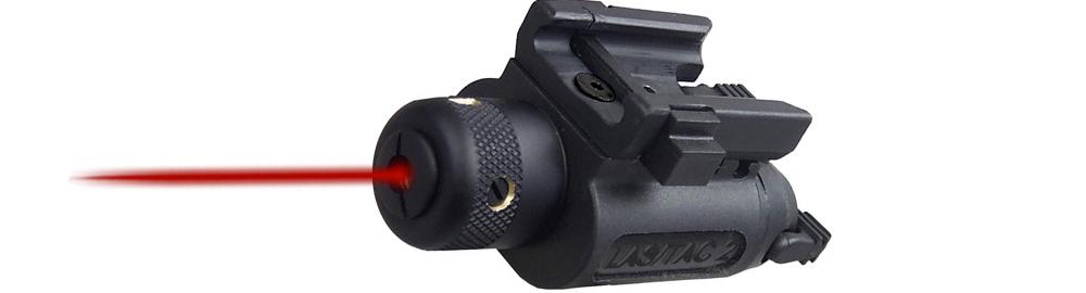 Laser et lampe