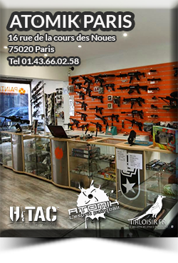 Boutique paris paintball