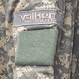 Velcro sur la mache pour vos patchs sur le jersey V-tac echo