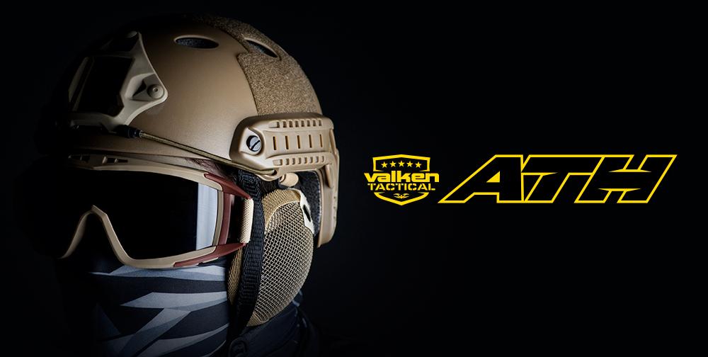 Casque tactiques pour la pratique du Paintball et de l'airsoft Valken