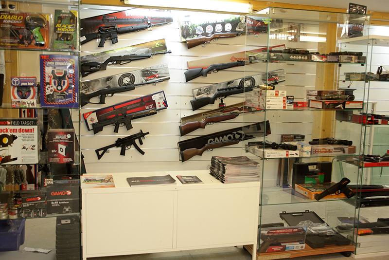 Decouvrez notre selectiond e pistolets et carabines à air comprimé à cergy