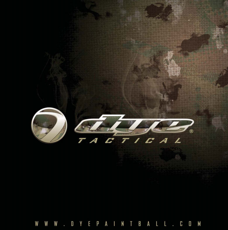 Tous les equipement de paintball Scenario Dye tactical collection 2011