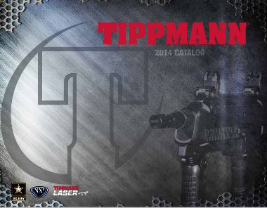 Le catalogue complet de la gamme tippmann paintball