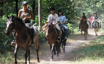 randonnées a cheval pour ceux qui ne veulent pas jouer au paintball