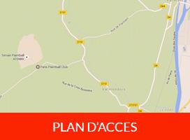 Plan d'acces a notre terrain de paris