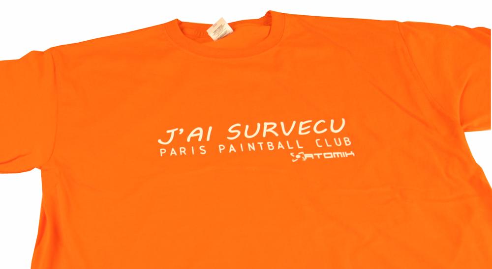 T-shirt pour enterrement de vie de garçon Orange