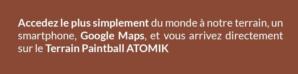 Acces terrain Paris