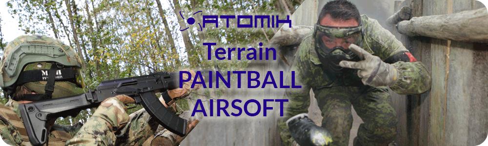Découvrez notre parc de 10 Ha pour le Paintball et l'airsoft