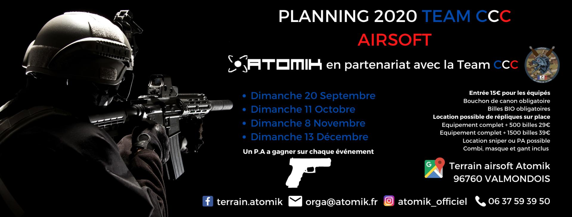 Journée scénario Airsoft sur notre terrain de Paris