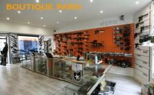 Boutique Atomik PARIS fermée le lundi au mois d'Aout