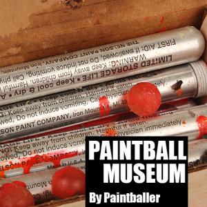Paintball Museum : une application sur l'histoire du paintball