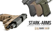 gros plan sur STARK ARMS MATCH de BO manufacture