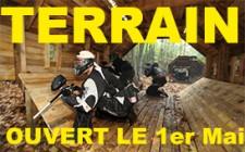Le terrain de Paris sera ouvert le 1er mai